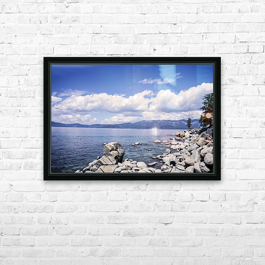 Out West 7 of 8 HD Sublimation Metal print with Decorating Float Frame (BOX)