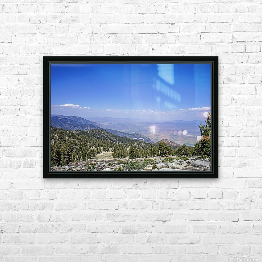 Out West 1 of 8 HD Sublimation Metal print with Decorating Float Frame (BOX)