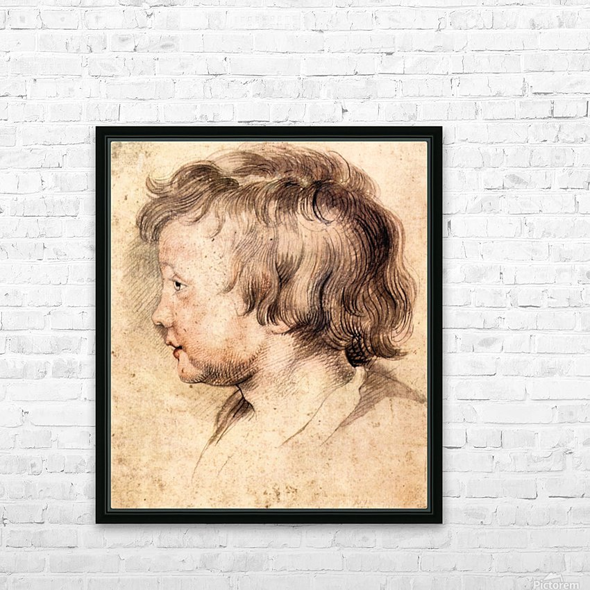 Son Albert by Rubens HD Sublimation Metal print with Decorating Float Frame (BOX)