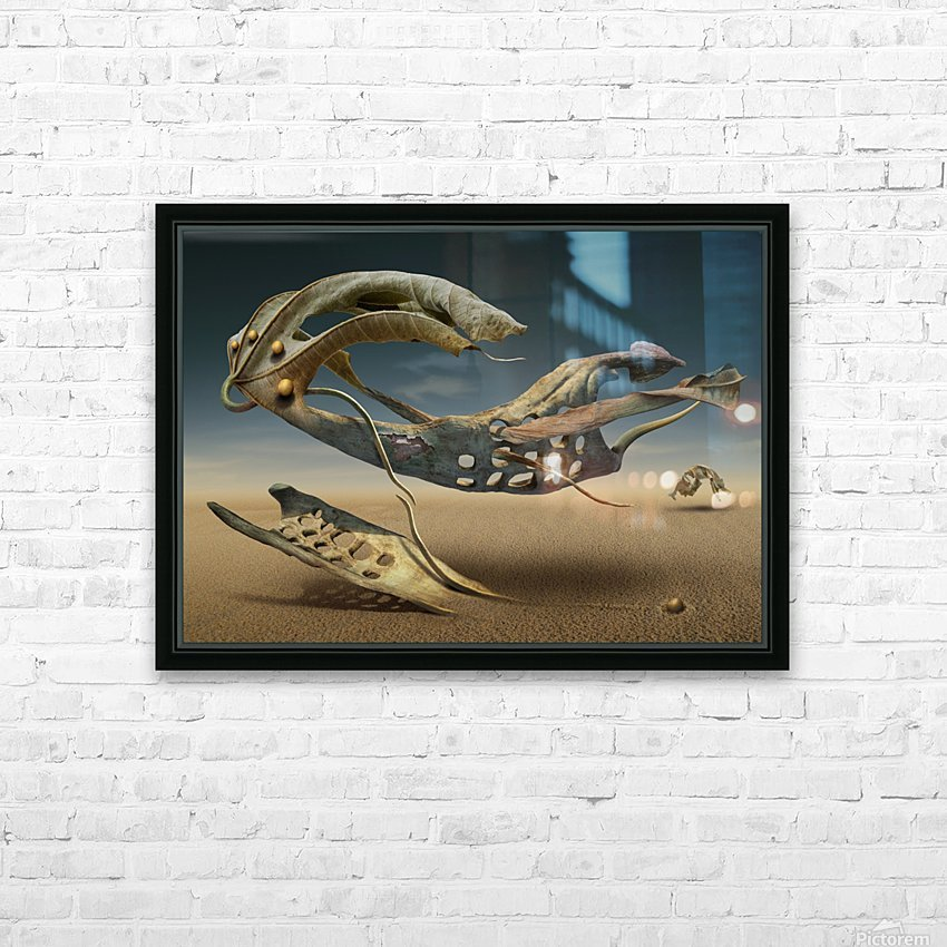 K_214 HD Sublimation Metal print with Decorating Float Frame (BOX)