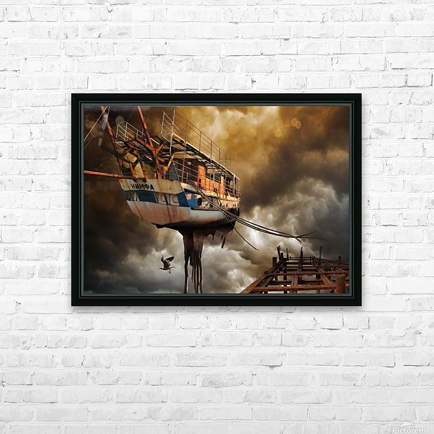 Nimfa HD Sublimation Metal print with Decorating Float Frame (BOX)