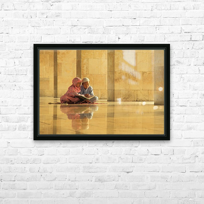 learning HD Sublimation Metal print with Decorating Float Frame (BOX)