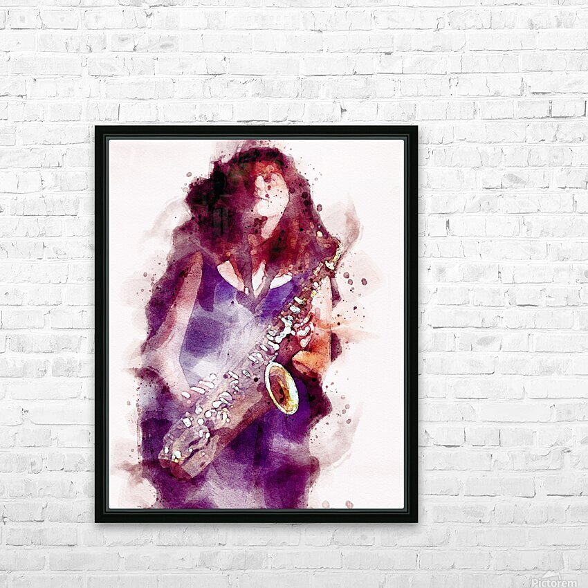 Blues In The Night HD Sublimation Metal print with Decorating Float Frame (BOX)