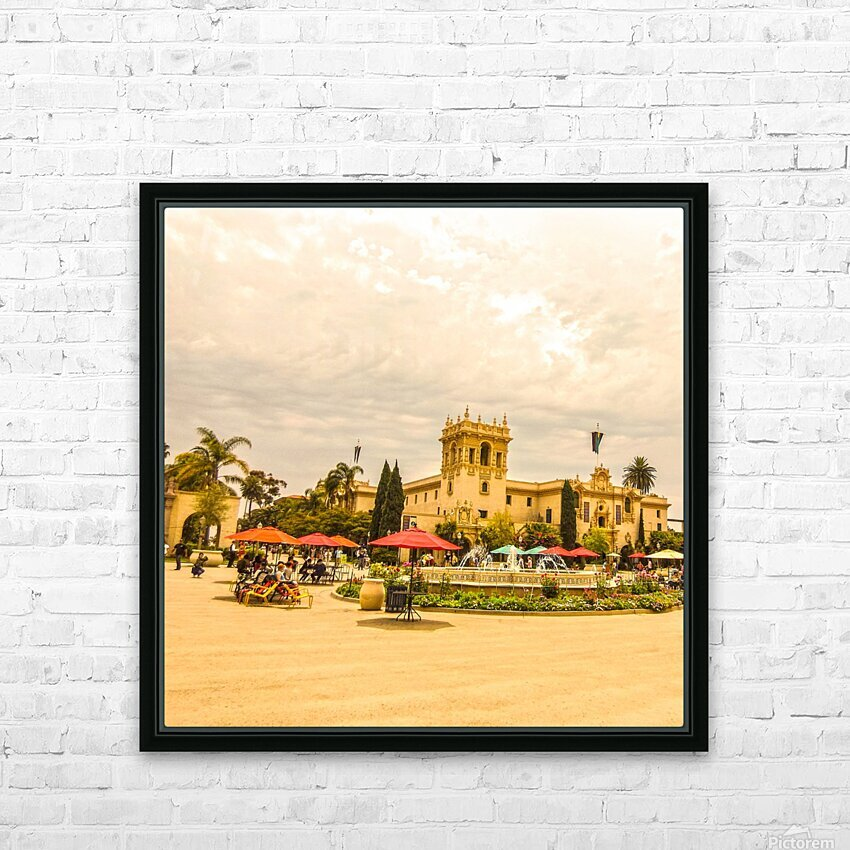 One Day in San Diego HD Sublimation Metal print with Decorating Float Frame (BOX)