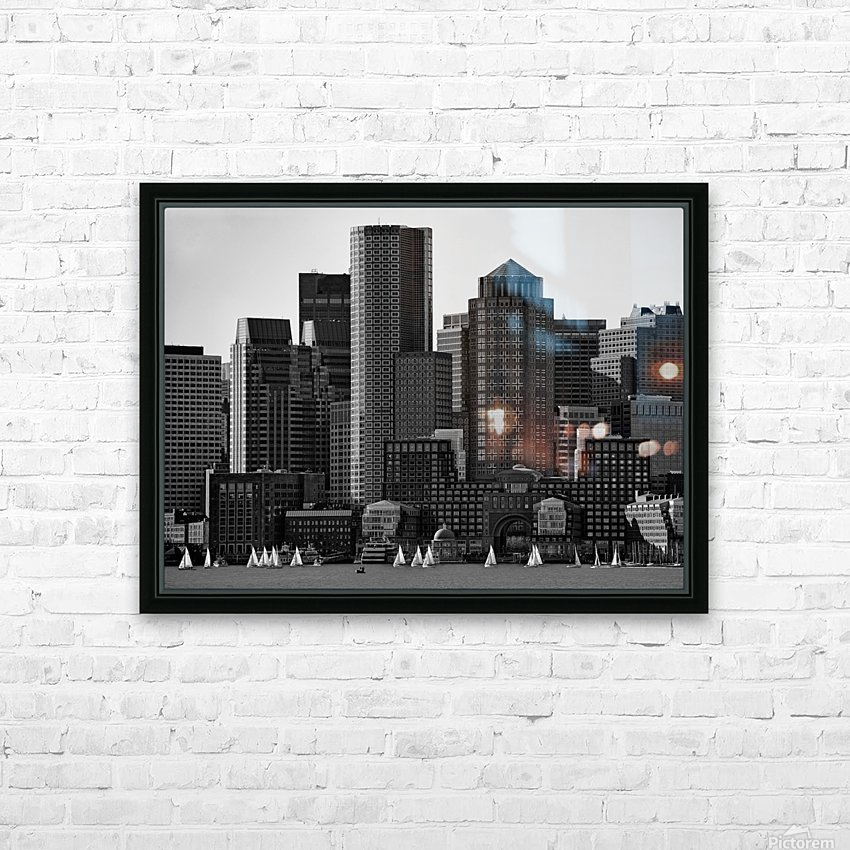 Towers HD Sublimation Metal print with Decorating Float Frame (BOX)