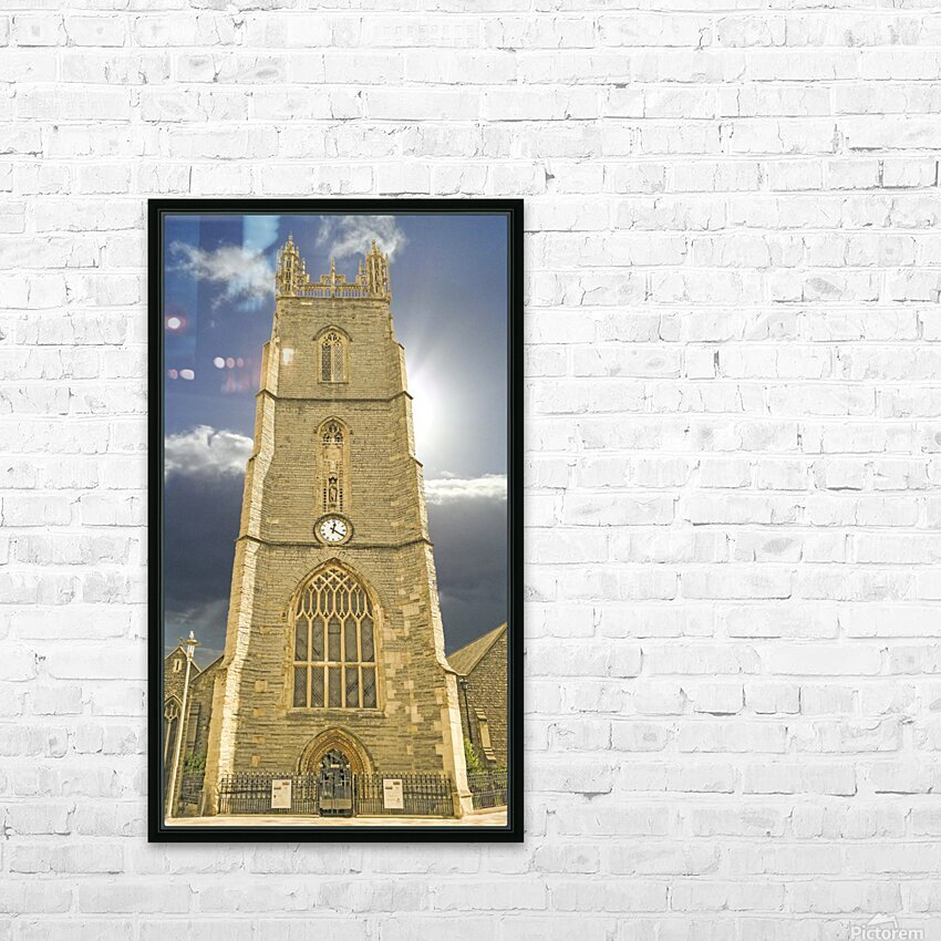 Beautiful Cardiff HD Sublimation Metal print with Decorating Float Frame (BOX)