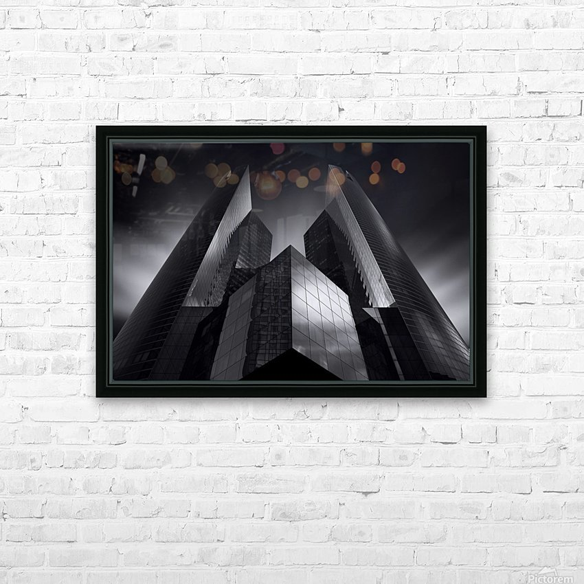 Headquarter by Sebastien DEL GROSSO HD Sublimation Metal print with Decorating Float Frame (BOX)