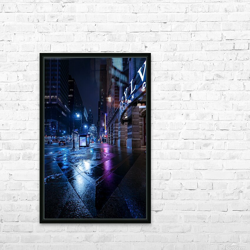 Back To You HD Sublimation Metal print with Decorating Float Frame (BOX)