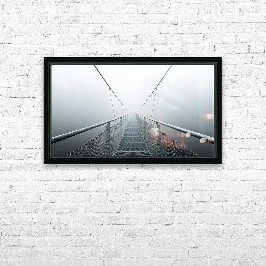 The Path to Infinity HD sublimation métal imprimé avec décoration flotteur cadre (boîte)