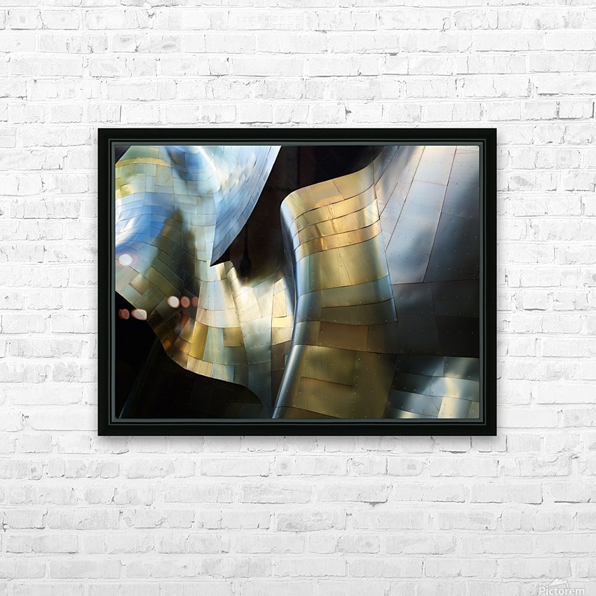 Organic Metal 3 by David Reams  HD Sublimation Metal print with Decorating Float Frame (BOX)