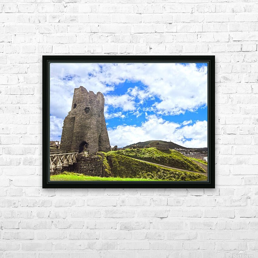 Wondrous Aberystwyth 3 of 5 HD Sublimation Metal print with Decorating Float Frame (BOX)
