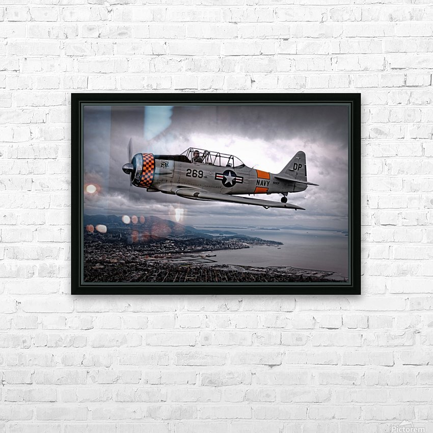 Over Under by Thomas T.  HD Sublimation Metal print with Decorating Float Frame (BOX)