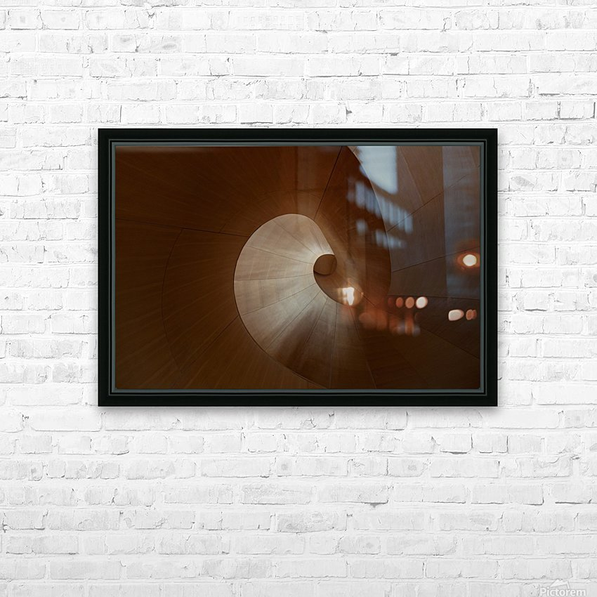 Spiral by Heather Bonadio  HD sublimation métal imprimé avec décoration flotteur cadre (boîte)