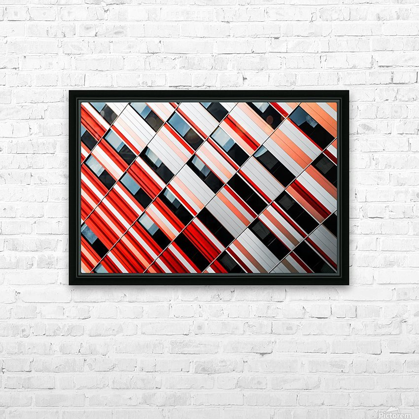 Mo-zA HD Sublimation Metal print with Decorating Float Frame (BOX)