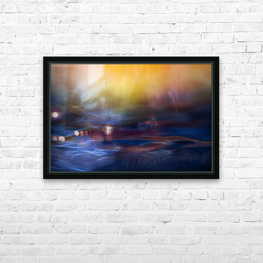 Inner Peace HD Sublimation Metal print with Decorating Float Frame (BOX)