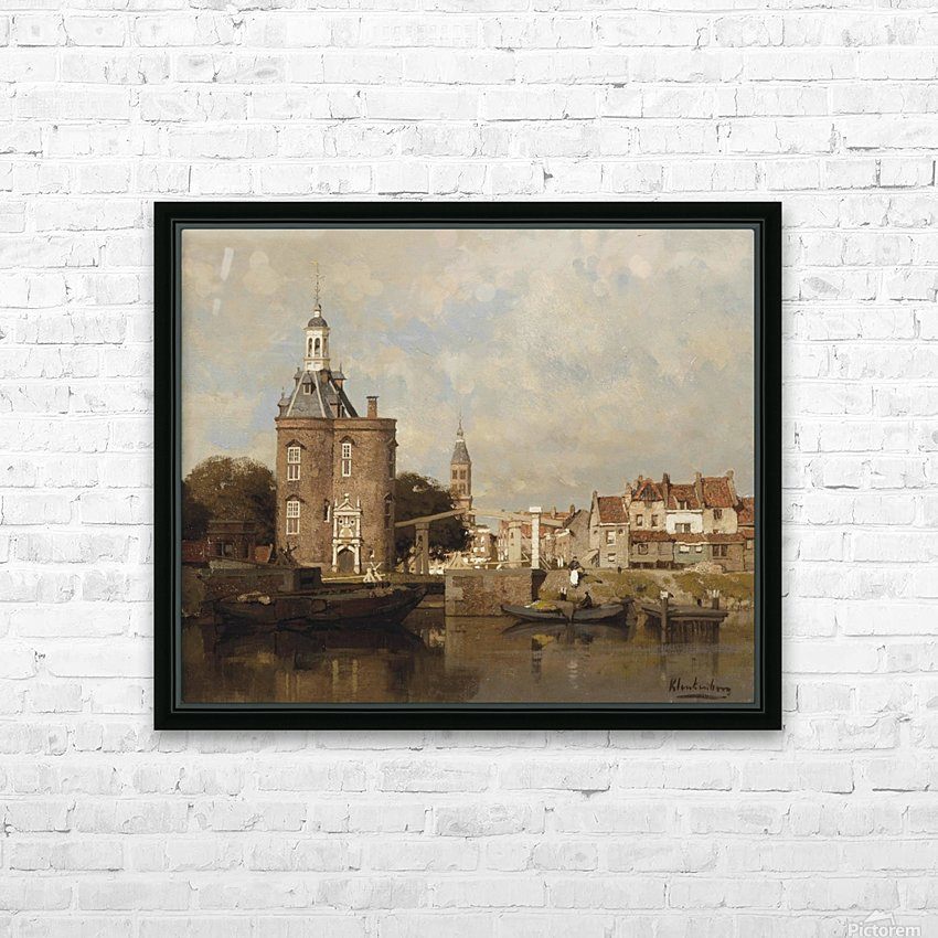 Haven van Enkhuizen HD Sublimation Metal print with Decorating Float Frame (BOX)