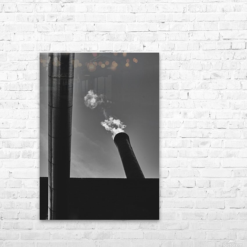 Smokestack Number Six HD Sublimation Metal print with Decorating Float Frame (BOX)