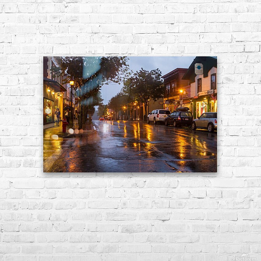 Bar Harbor ap 1539 HD Sublimation Metal print with Decorating Float Frame (BOX)