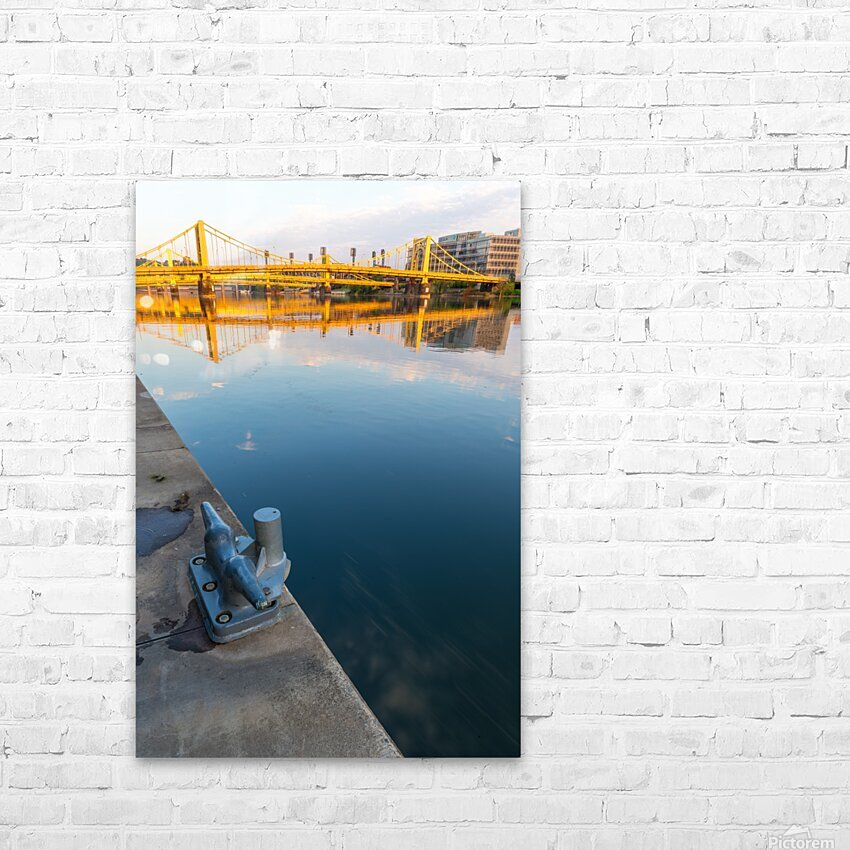 Barge Cleat ap 2877 HD Sublimation Metal print with Decorating Float Frame (BOX)