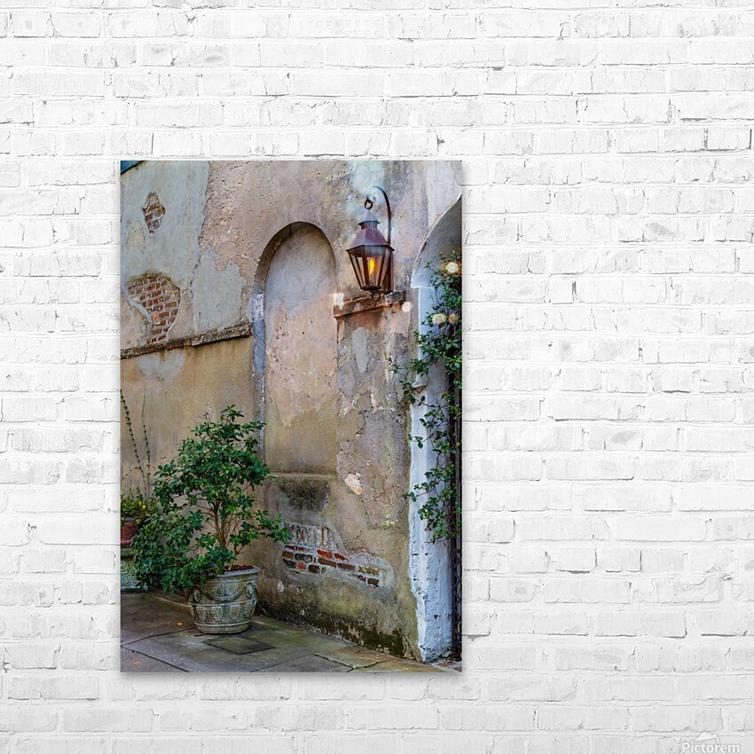Stucco ap 2089 HD Sublimation Metal print with Decorating Float Frame (BOX)