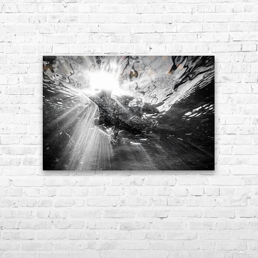 Sunlight ap 2048 B&W HD Sublimation Metal print with Decorating Float Frame (BOX)