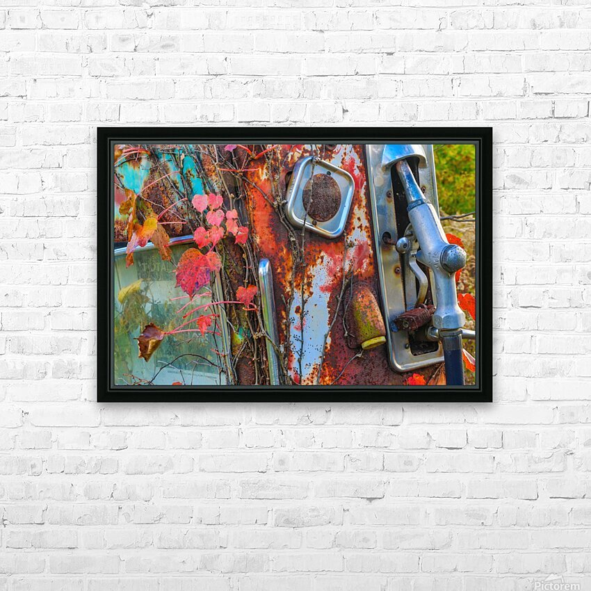 Long Forgotten ap 1965 HD Sublimation Metal print with Decorating Float Frame (BOX)