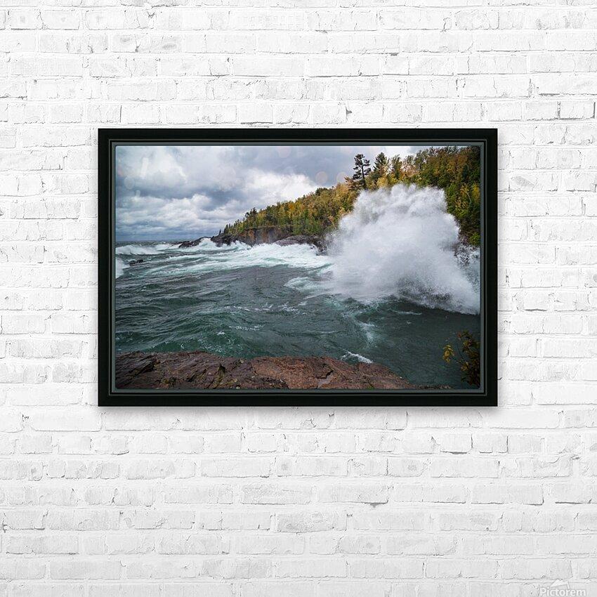 Splash 4 ap 2628 HD Sublimation Metal print with Decorating Float Frame (BOX)
