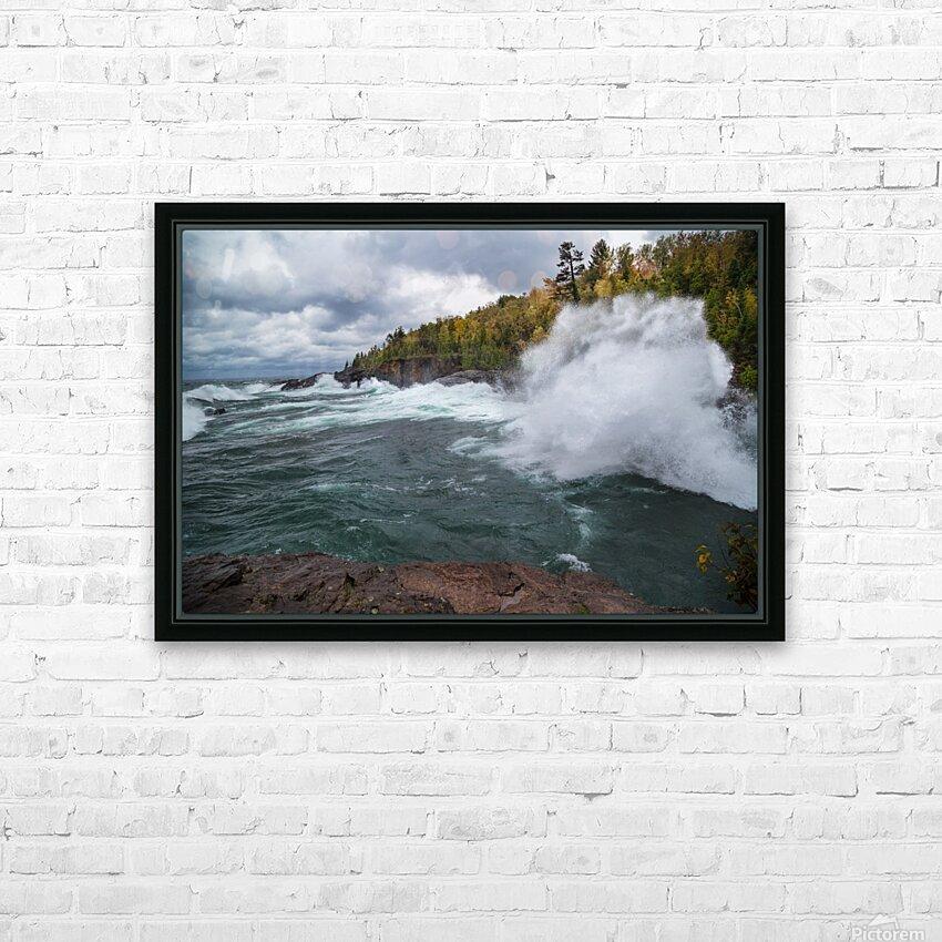 Splash 5 ap 2629 HD Sublimation Metal print with Decorating Float Frame (BOX)