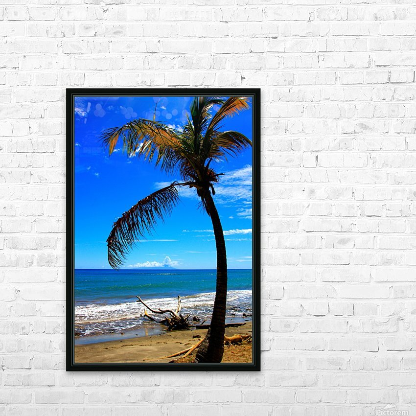 Saint Vincent from a distance HD Sublimation Metal print with Decorating Float Frame (BOX)