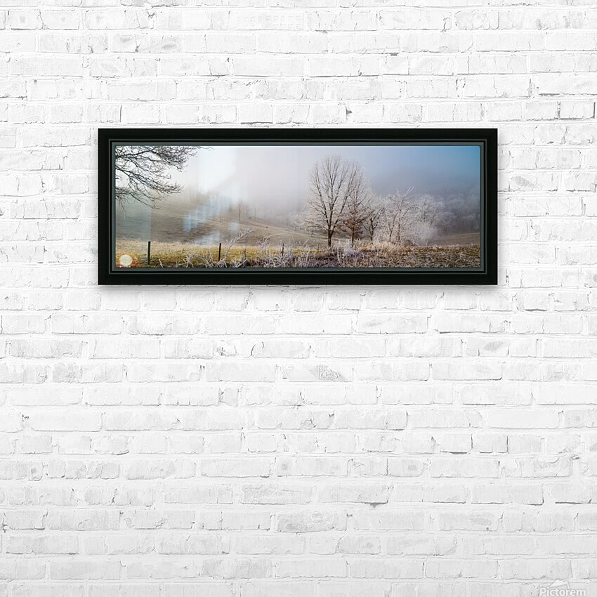 Pasture ap 2033 HD Sublimation Metal print with Decorating Float Frame (BOX)