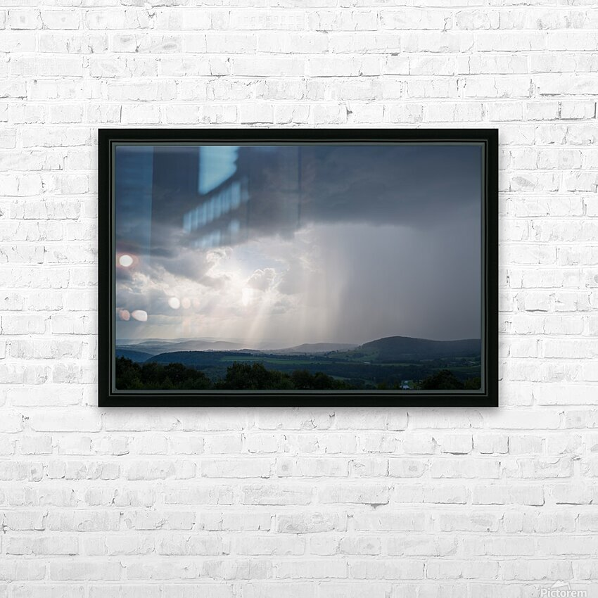 Moving Storm ap 2904 HD Sublimation Metal print with Decorating Float Frame (BOX)
