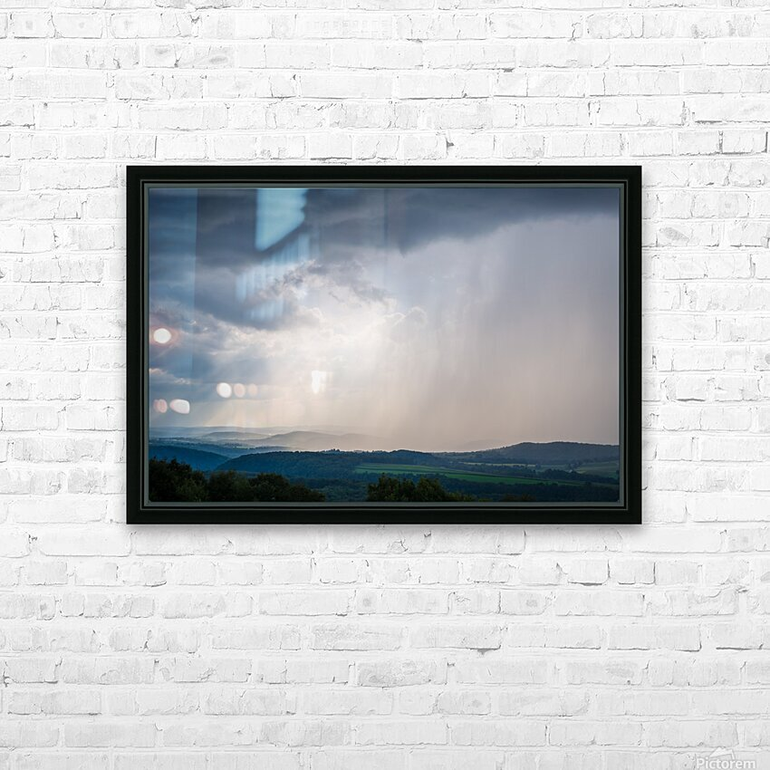 Moving Storm ap 2903 HD Sublimation Metal print with Decorating Float Frame (BOX)