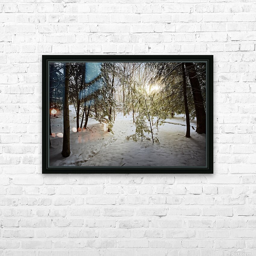 Sunlight ap 2731 HD Sublimation Metal print with Decorating Float Frame (BOX)