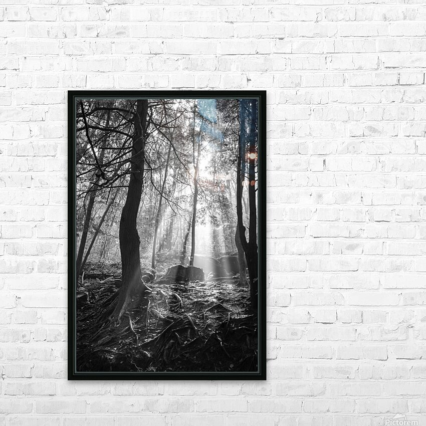 Sunlight ap 1928 B&W HD Sublimation Metal print with Decorating Float Frame (BOX)