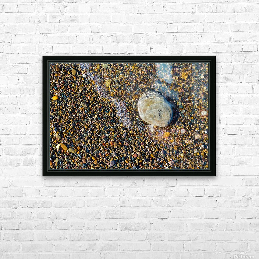 Pebble ap 1599 HD Sublimation Metal print with Decorating Float Frame (BOX)