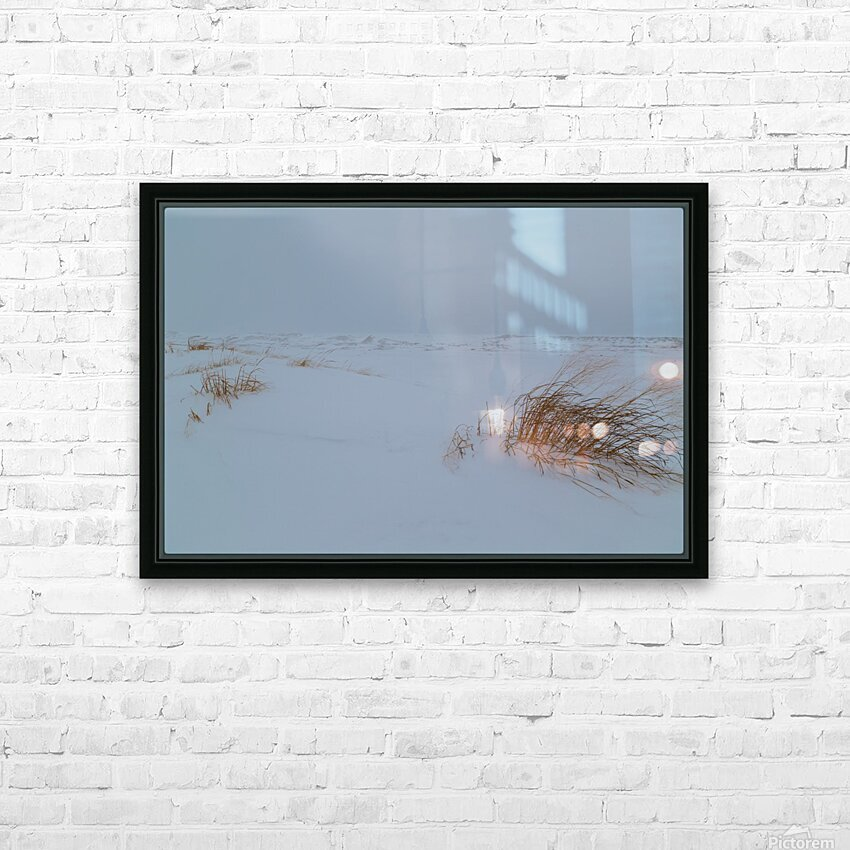 Ice Dunes ap 1987 HD Sublimation Metal print with Decorating Float Frame (BOX)