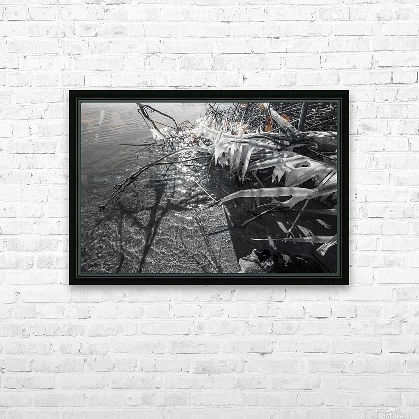 Sparkles ap 1595 B&W HD Sublimation Metal print with Decorating Float Frame (BOX)