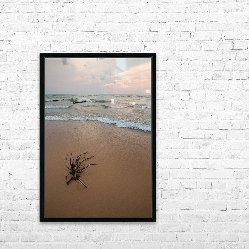 Lake Michigan ap 2415 HD Sublimation Metal print with Decorating Float Frame (BOX)