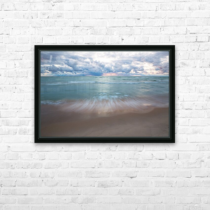 Sunset ap 2448 HD Sublimation Metal print with Decorating Float Frame (BOX)