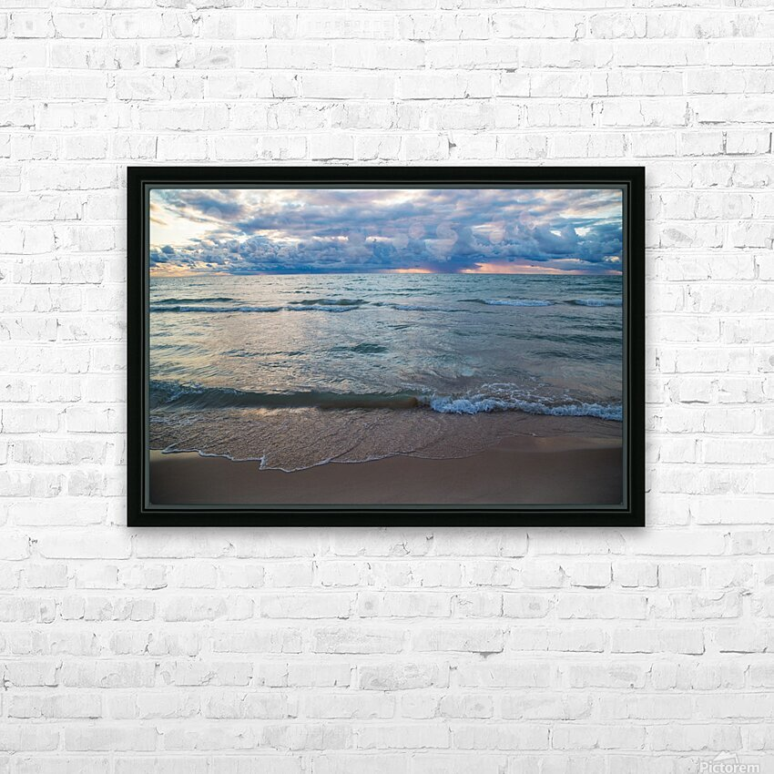 Sunset ap 2446 HD Sublimation Metal print with Decorating Float Frame (BOX)