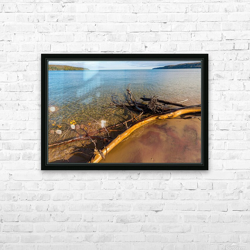 Driftwood ap 2481 HD Sublimation Metal print with Decorating Float Frame (BOX)