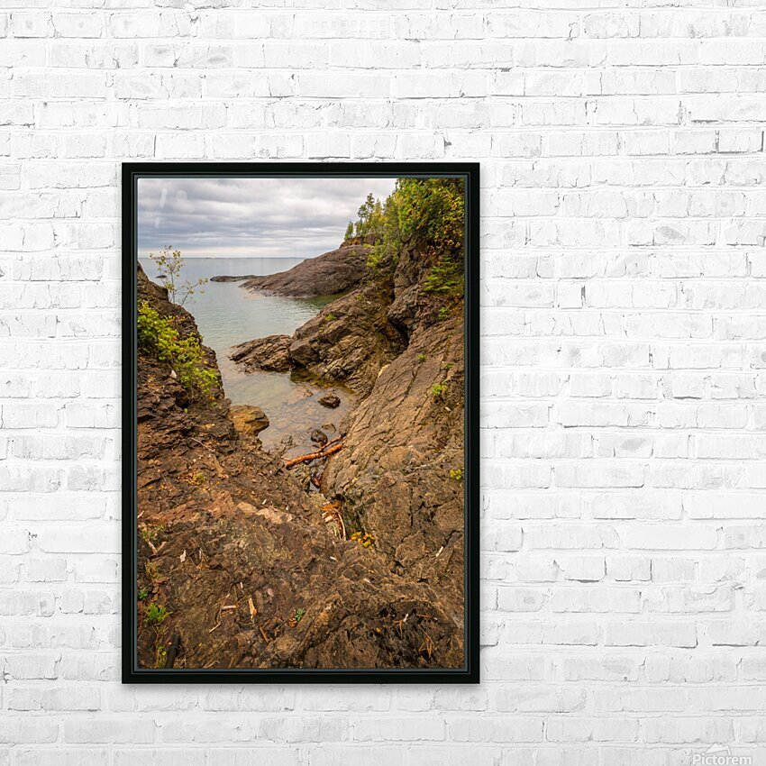Lake Superior ap 2550 HD Sublimation Metal print with Decorating Float Frame (BOX)