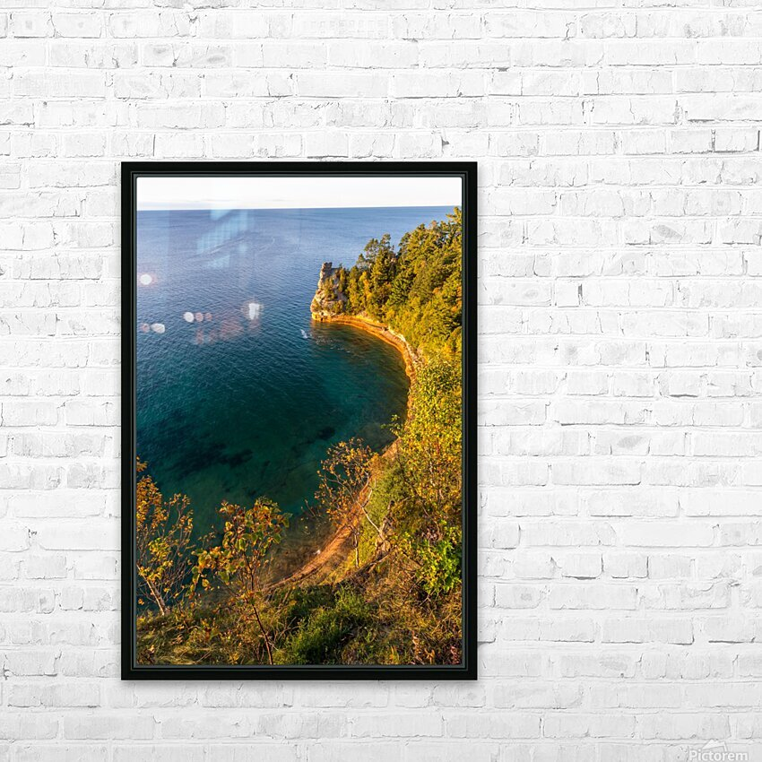 Miners Castle ap 2518 HD Sublimation Metal print with Decorating Float Frame (BOX)