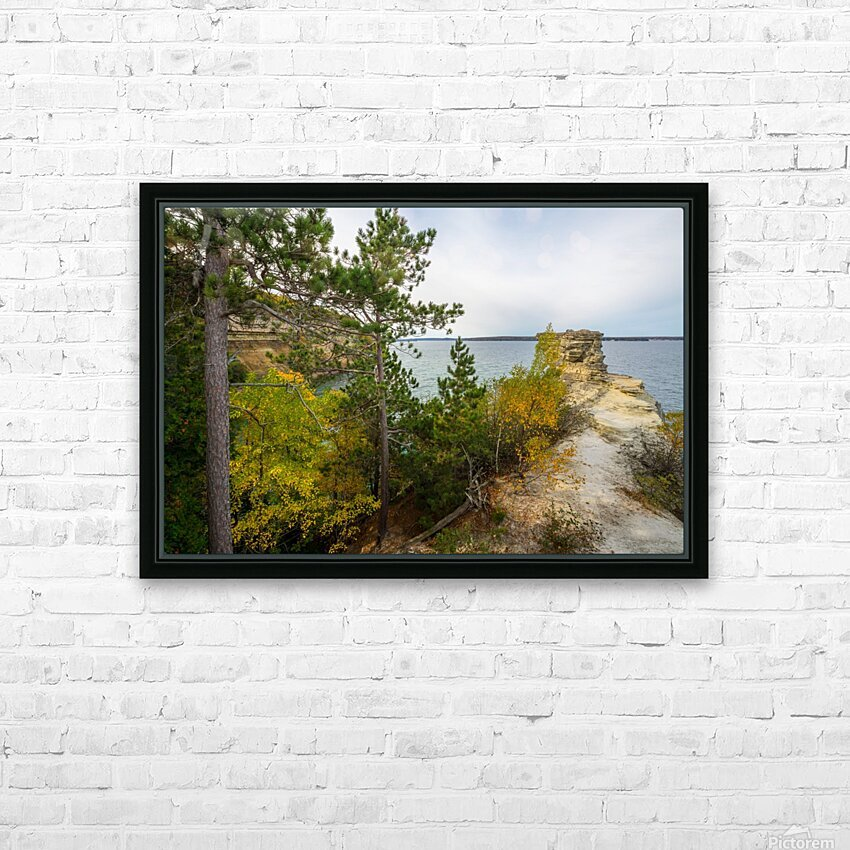 Miners Castle ap 2582 HD Sublimation Metal print with Decorating Float Frame (BOX)