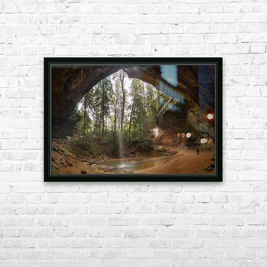 Ash Cave apmi 1648 HD Sublimation Metal print with Decorating Float Frame (BOX)