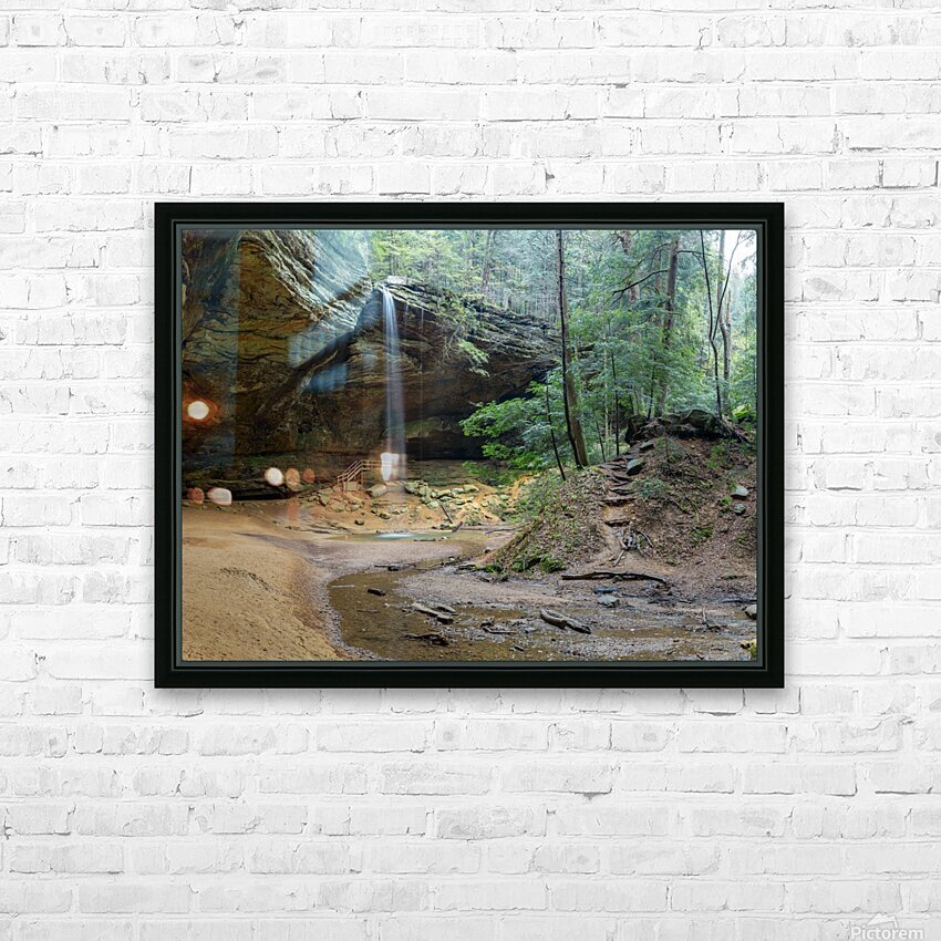 Ash Cave apmi 1642 HD Sublimation Metal print with Decorating Float Frame (BOX)