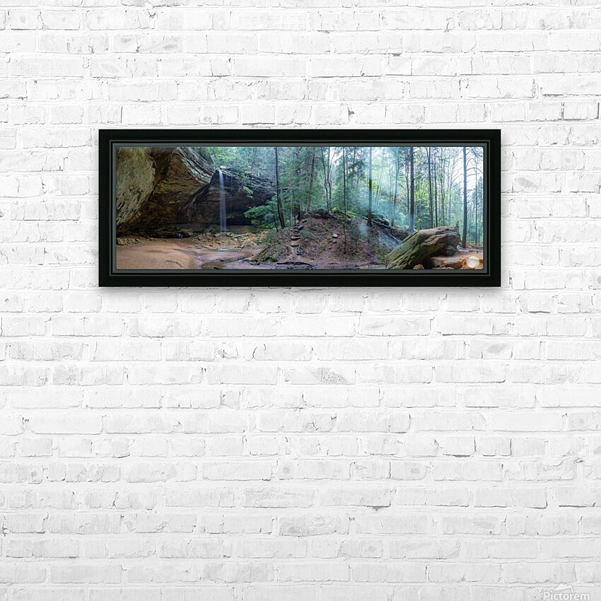 Ash Cave apmi 1646 HD Sublimation Metal print with Decorating Float Frame (BOX)