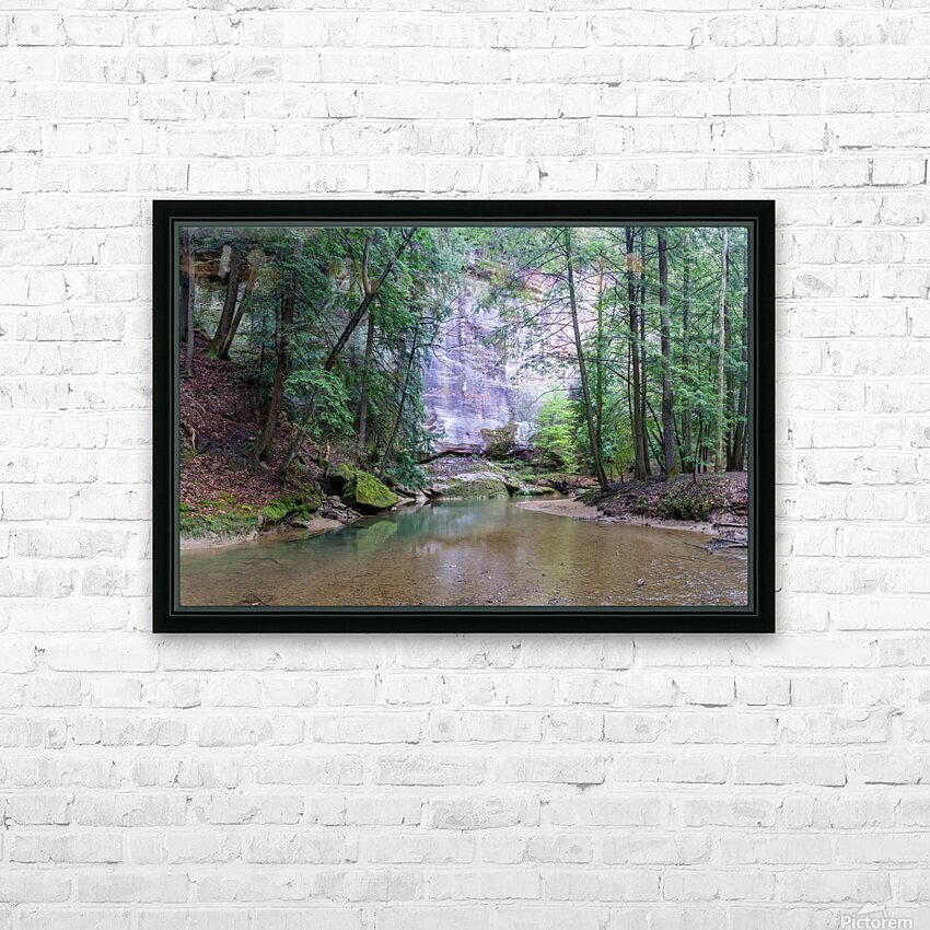 Water Colors apmi 1636 HD Sublimation Metal print with Decorating Float Frame (BOX)