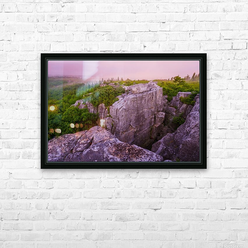 Overlook ap 1915 HD Sublimation Metal print with Decorating Float Frame (BOX)