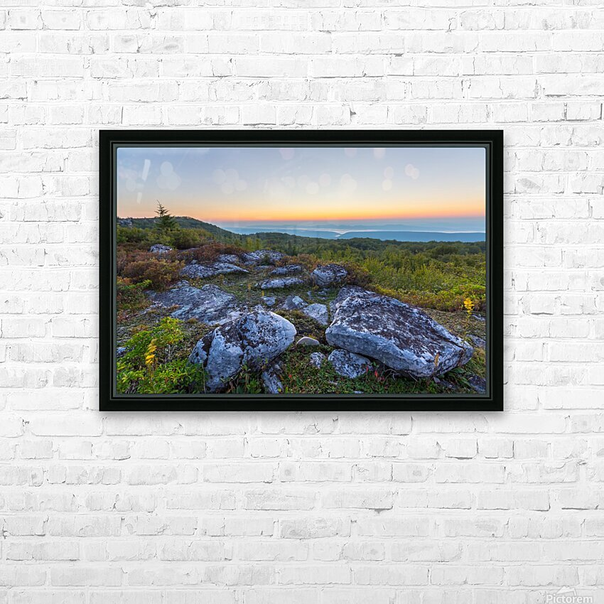 Sunrise ap 2896 HD Sublimation Metal print with Decorating Float Frame (BOX)